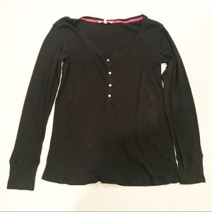 Victoria's Secret Thermal Long Sleeve Sleep Shirt